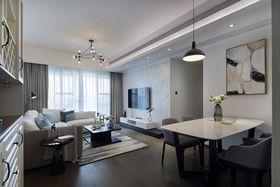 30平米以下超小戶型現代簡約風格客廳裝修案例
