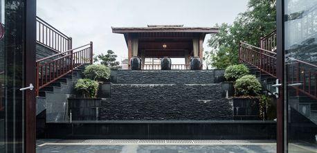 140平米别墅东南亚风格其他区域效果图