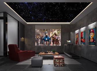 20万以上140平米别墅混搭风格影音室设计图