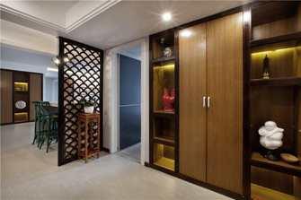 140平米四室两厅新古典风格玄关装修图片大全