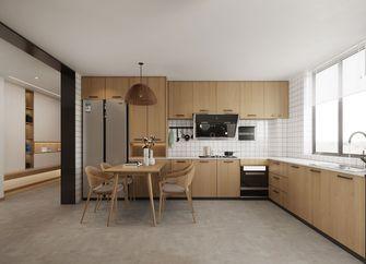 130平米三室两厅北欧风格餐厅图