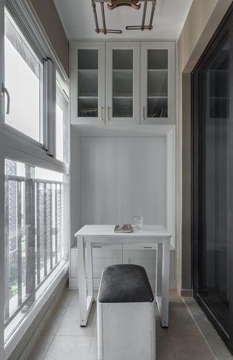 90平米三室两厅美式风格阳台欣赏图