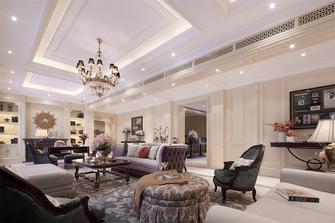 110平米复式美式风格客厅家具欣赏图
