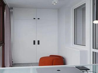 50平米一室一厅现代简约风格阳台图片
