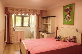110平米三英伦风格儿童房装修图片大全