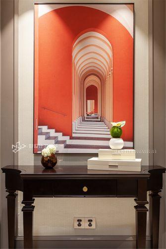 140平米三室两厅美式风格玄关装修效果图