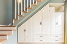 5-10万110平米公寓北欧风格楼梯装修图片大全
