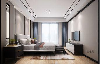 140平米四室两厅中式风格卧室装修效果图