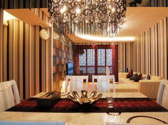 5-10万90平米现代简约风格餐厅背景墙设计图
