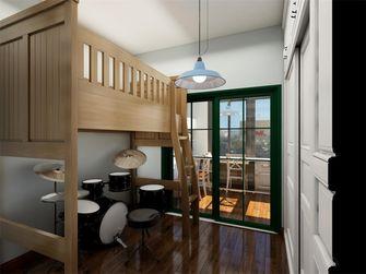 110平米三室两厅英伦风格儿童房图