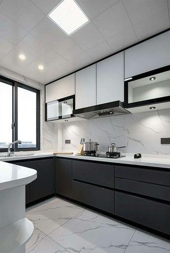 120平米三田园风格厨房设计图