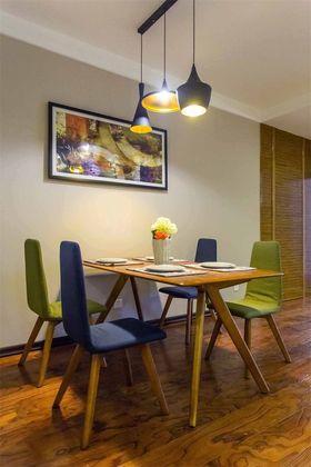 經濟型110平米三室兩廳混搭風格餐廳裝修圖片大全