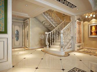 富裕型140平米别墅欧式风格楼梯图片大全