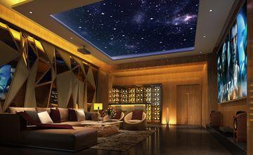 20万以上140平米别墅东南亚风格影音室效果图