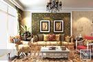 3-5万90平米三室两厅田园风格客厅沙发欣赏图