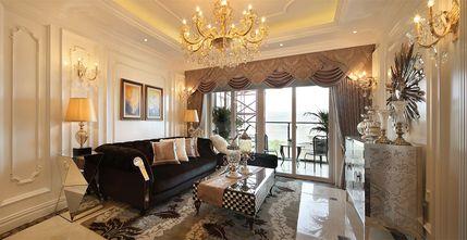 110平米三室两厅法式风格客厅沙发设计图