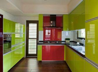 140平米三室一厅东南亚风格厨房图片