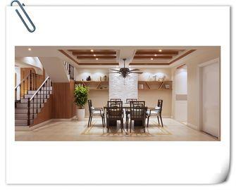 豪华型140平米别墅中式风格楼梯图