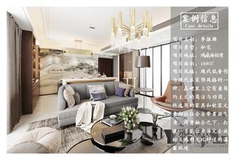 20万以上140平米四其他风格客厅设计图
