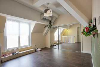 80平米复式混搭风格健身室装修案例