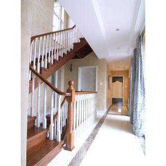 豪华型140平米别墅北欧风格楼梯设计图