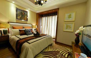 80平米东南亚风格卧室效果图