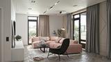 60平米一室一厅宜家风格客厅装修图片大全