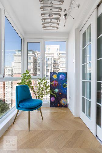 120平米四室一厅混搭风格阳台图