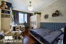 5-10万110平米三室两厅田园风格儿童房装修效果图