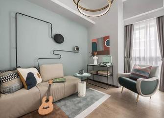 50平米一室一厅北欧风格影音室设计图