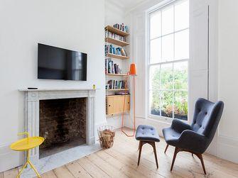 10-15万90平米一室一厅田园风格客厅装修图片大全