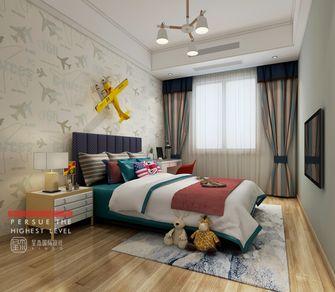 140平米四室两厅北欧风格儿童房欣赏图