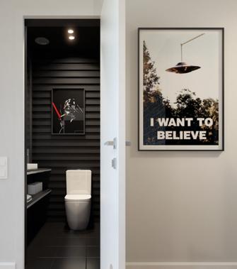 60平米混搭风格卫生间浴室柜装修图片大全