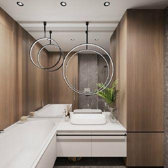 90平米一居室混搭风格卫生间设计图
