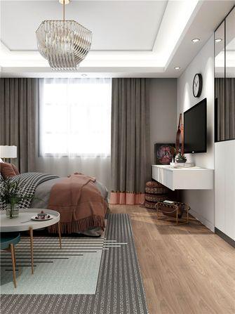 80平米三法式风格卧室效果图