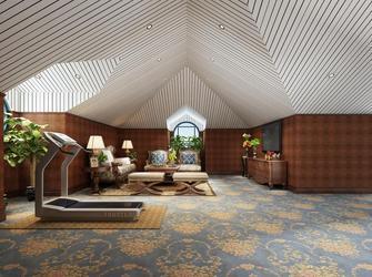 经济型60平米欧式风格阁楼设计图