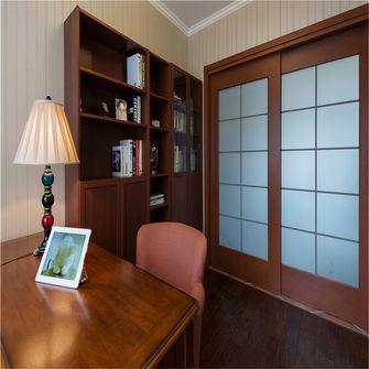 90平米美式风格书房装修案例