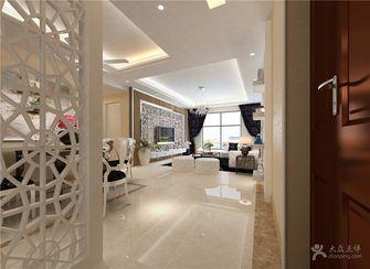 120平米三室两厅英伦风格玄关装修图片大全