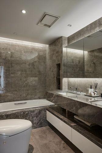 140平米一居室现代简约风格卫生间图片大全