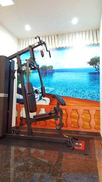15-20万140平米四室两厅宜家风格健身室图