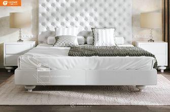 经济型140平米别墅法式风格卧室设计图