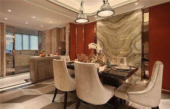 140平米四室五厅新古典风格餐厅设计图