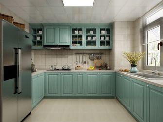 90平米一室一厅现代简约风格厨房图片大全