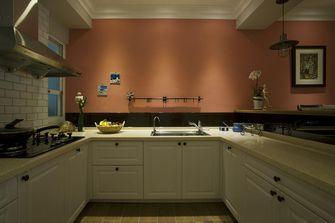 140平米三美式风格厨房欣赏图
