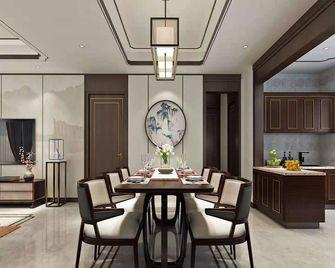 140平米三室一厅新古典风格餐厅欣赏图