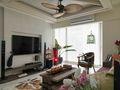 5-10万120平米三室三厅东南亚风格客厅装修案例