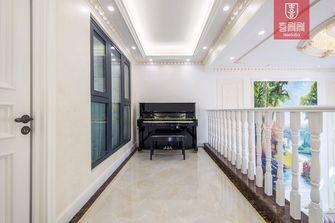 140平米四室一厅田园风格走廊图片大全