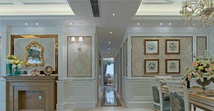 130平米四室两厅欧式风格走廊装修效果图