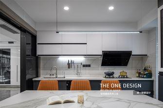 20万以上140平米三室两厅现代简约风格厨房图