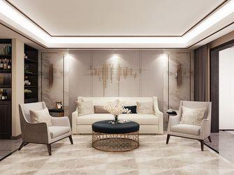 80平米欧式风格客厅设计图